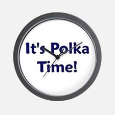 It's Polka time! Wall Clock