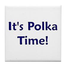 It's Polka time! Tile Coaster