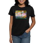 Garden / English Setter Women's Dark T-Shirt