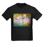 Garden / English Setter Kids Dark T-Shirt