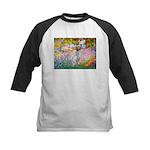 Garden / English Setter Kids Baseball Jersey