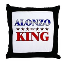 ALONZO for king Throw Pillow