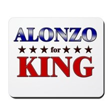 ALONZO for king Mousepad
