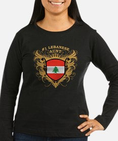 Number One Lebanese Aunt T-Shirt