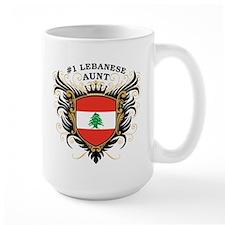 Number One Lebanese Aunt Mug