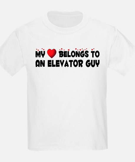Belongs To An Elevator Guy T-Shirt