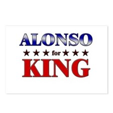 ALONSO for king Postcards (Package of 8)