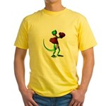Gecko Boxer Yellow T-Shirt