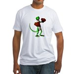 Gecko Boxer Fitted T-Shirt