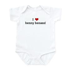 I Love benny benassi Infant Bodysuit