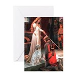 Accolade / English Setter Greeting Card