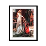 Accolade / English Setter Framed Panel Print