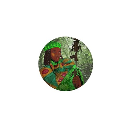Orisha Osain Mini Button (100 pack)