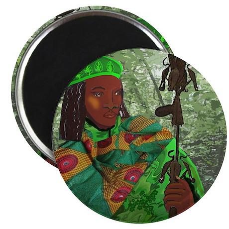 "Orisha Osain 2.25"" Magnet (10 pack)"
