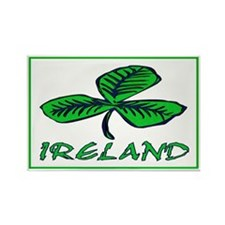...Ireland Shamrock... Rectangle Magnet