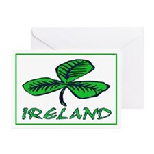 ...Ireland Shamrock... Greeting Cards (Pk of 20)