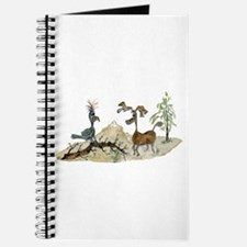 Cute Moose artwork Journal