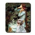 Ophelia / English Setter Mousepad