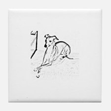 Doggy Tile Coaster