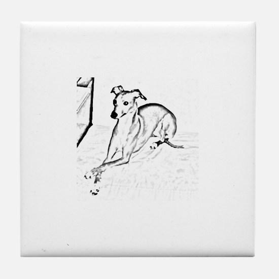 Doggy Tile Coaster