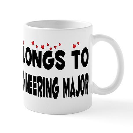 Belongs To An Electrical Engineering Major Mug