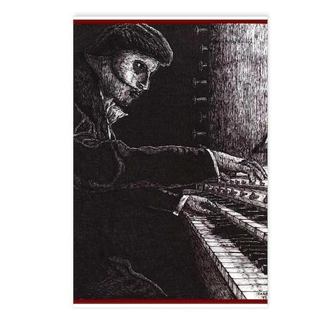 'Requiem' ~ Postcards (Package of 8)