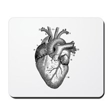 Vintage Heart 2 Mousepad