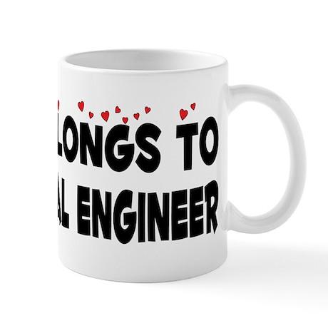 Belongs To An Electrical Engineer Mug