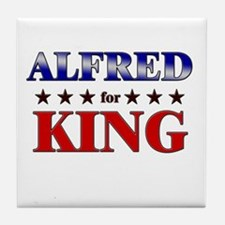 ALFRED for king Tile Coaster