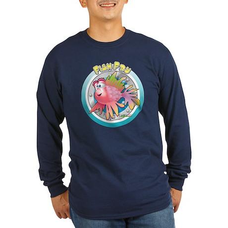 Fish Fry Long Sleeve Dark T-Shirt