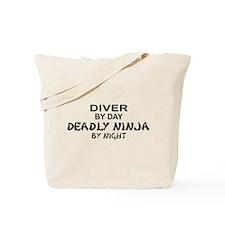 Diver Deadly Ninja Tote Bag