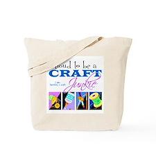 Craft Junkie Tote Bag