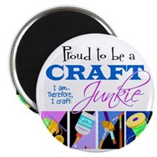 Craft Junkie Magnet