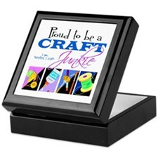 Craft Junkie Keepsake Box
