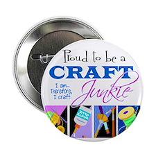 """Craft Junkie 2.25"""" Button"""