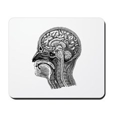 Vintage Head Mousepad