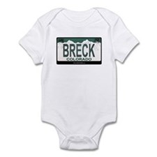 Breck License Plate Infant Bodysuit