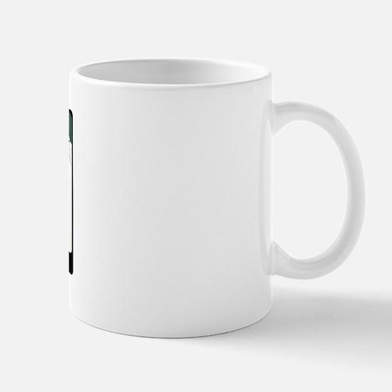 Breck License Plate Mug