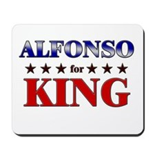 ALFONSO for king Mousepad