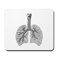 Vintage Lungs Mousepad