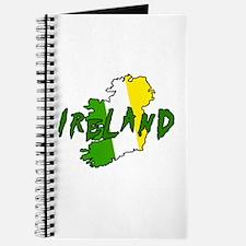 Irish Colors on Irish Map Journal