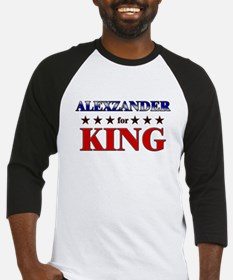 ALEXZANDER for king Baseball Jersey