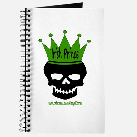 IRISH PRINCE-SKULL Journal