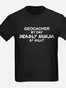 Geocacher Deadly Ninja T