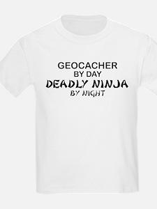 Geocacher Deadly Ninja T-Shirt