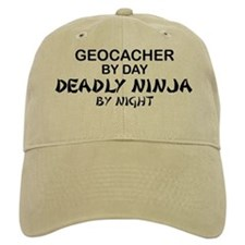 Geocacher Deadly Ninja Baseball Cap