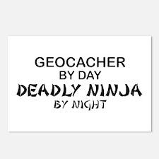 Geocacher Deadly Ninja Postcards (Package of 8)
