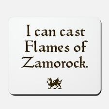 Flames of Zamorock Mousepad