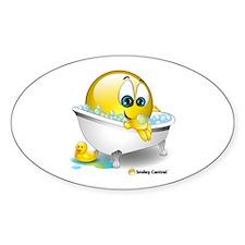 Bath Tub Oval Decal
