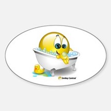 Bath Tub Oval Decal